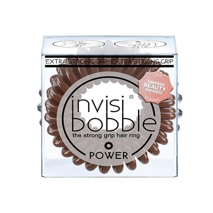 Купить Парикмахерские инструменты Invisibobble, Резинка-браслет для волос Invisibobble Power Pretzel Brown