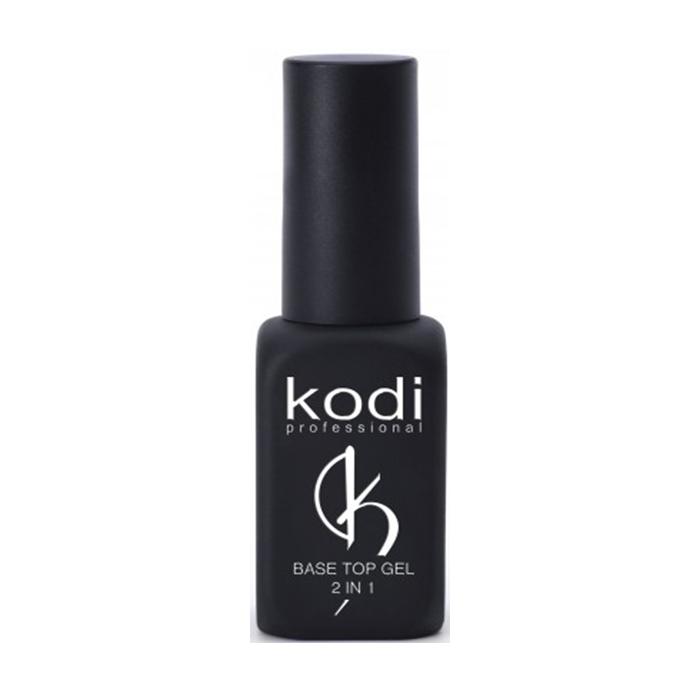 Купить Базовое покрытие для гель-лака Kodi, База и топ 2в1 Kodi Base Top Gel 8 мл