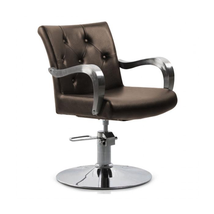Купить Парикмахерская мебель Tico, Кресло парикмахерское Tico BM 68498 на гидравлическом подъемнике Copper