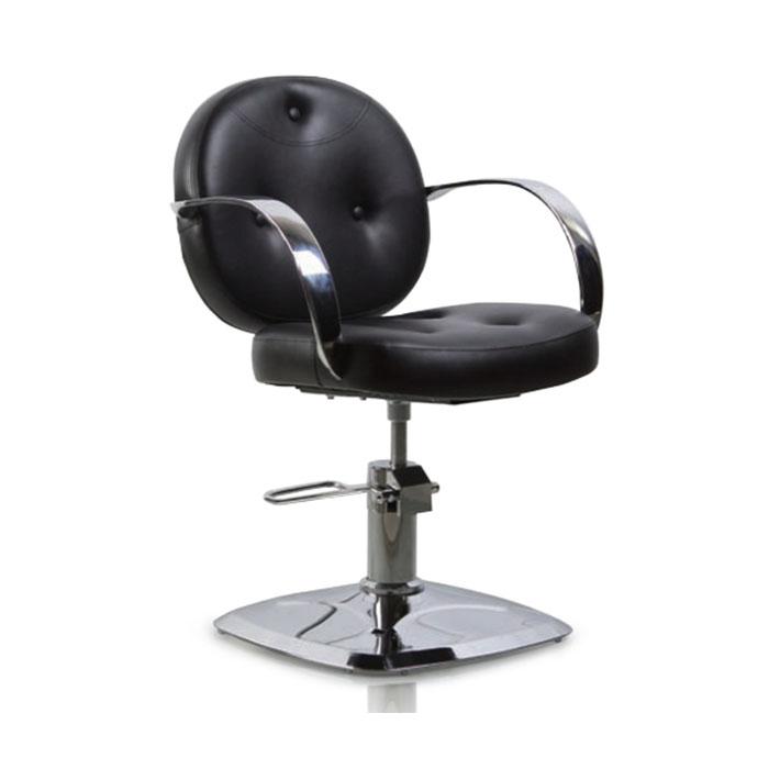 Купить Парикмахерская мебель Tico, Кресло парикмахерское Tico BM 68508 на гидравлическом подъемнике Black
