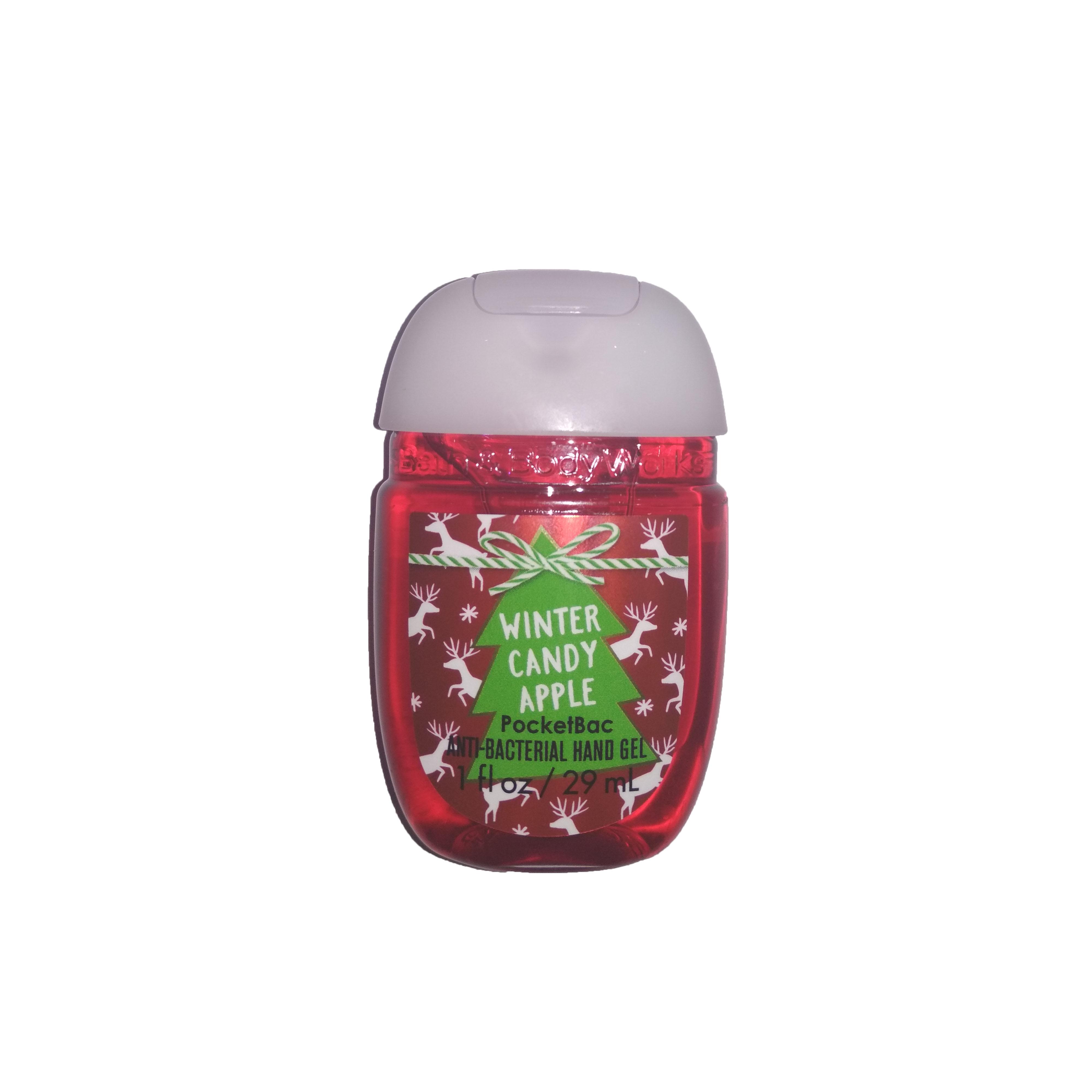 Купить Антисептики для рук Bath & Body Works, Антисептический гель для рук Bath Body Works Winter Candy Apple 29 мл