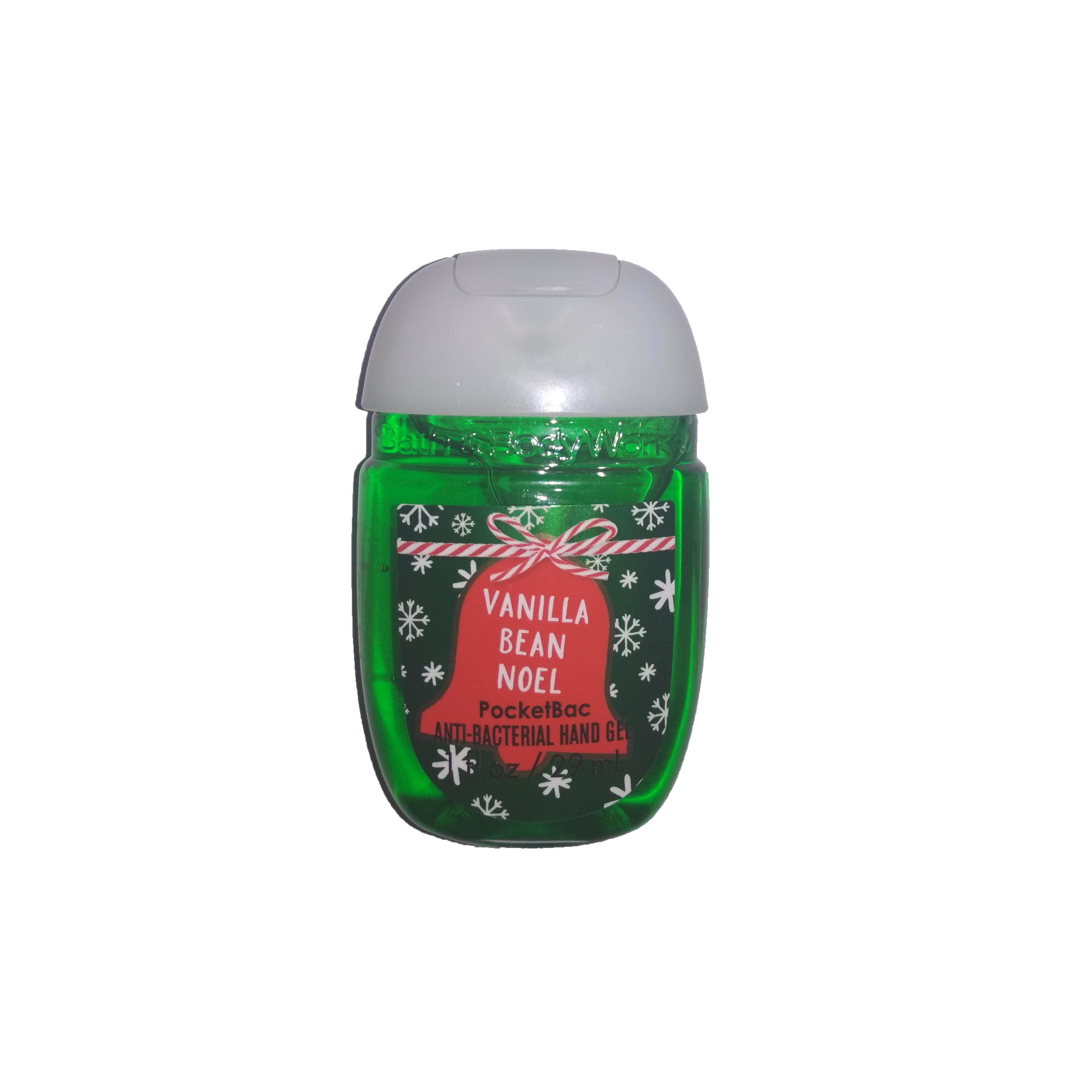 Купить Антисептики для рук Bath & Body Works, Антисептический гель для рук Bath Body Works Vanilla Bean Noel 29 мл