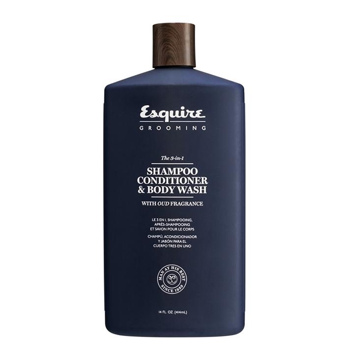 Купить Шампуни Esquire, Шампунь-кондиционер гель для душа Esquire Grooming 3 в 1 для мужчин 415 мл
