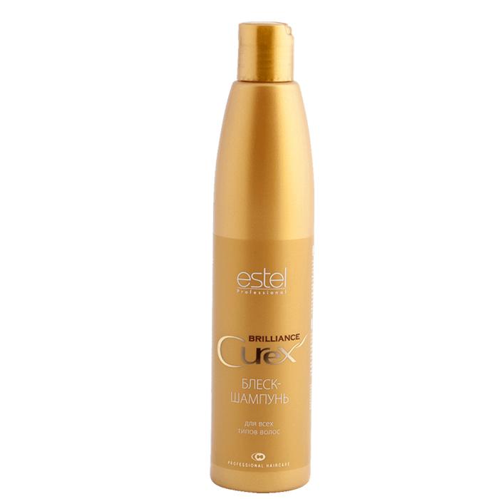 Купить Шампуни Estel, Шампунь Estel Curex Brilliance блеск для всех типов волос 300 мл