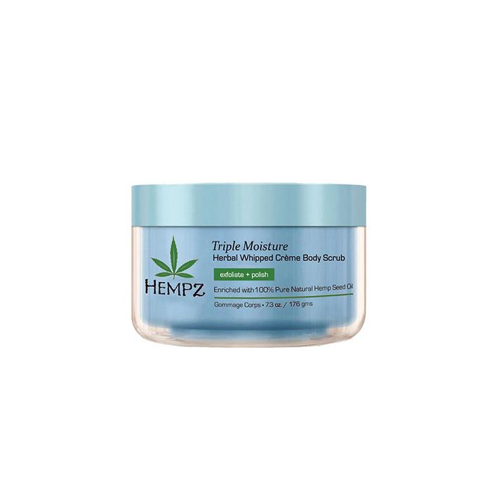 Купить Скрабы для тела Hempz, Скраб для тела Hempz Triple Moisture herbal Whipped Creame Body Scrub увлажняющий тройного действия 176 г