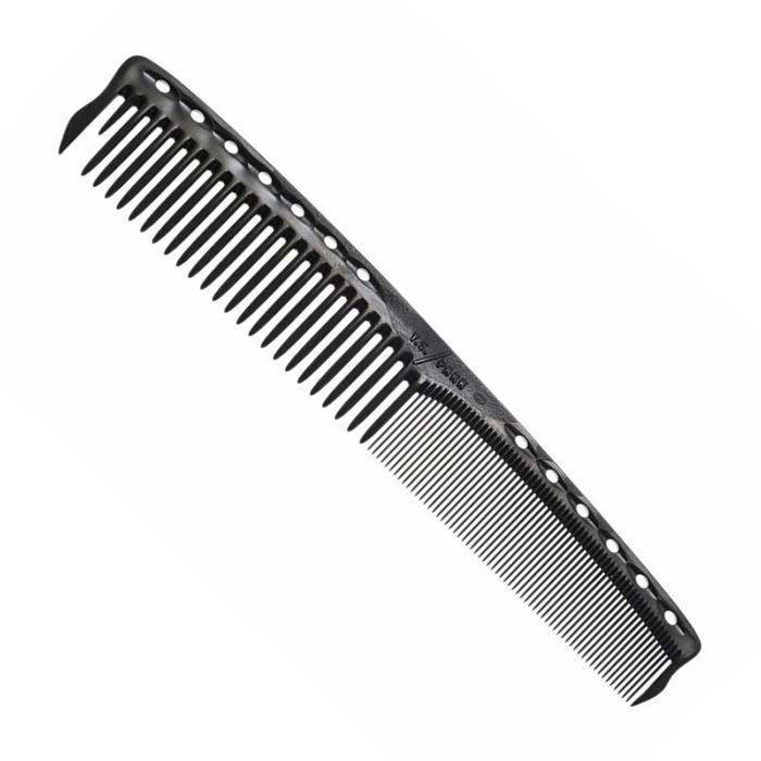 Купить Гребни Y.S.Park, Гребень Y.S.Park French Color Comb для быстрых техник стрижки Carbon Black 178 мм