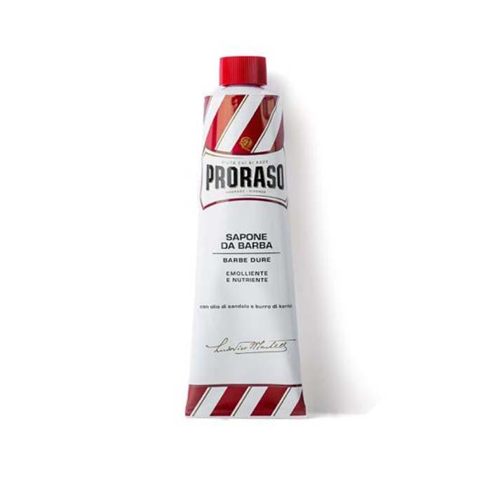 Купить Средства для бритья Proraso, Крем для бритья Proraso Red Line Emollient Shaving для жесткой щетины с маслом ши 150 мл