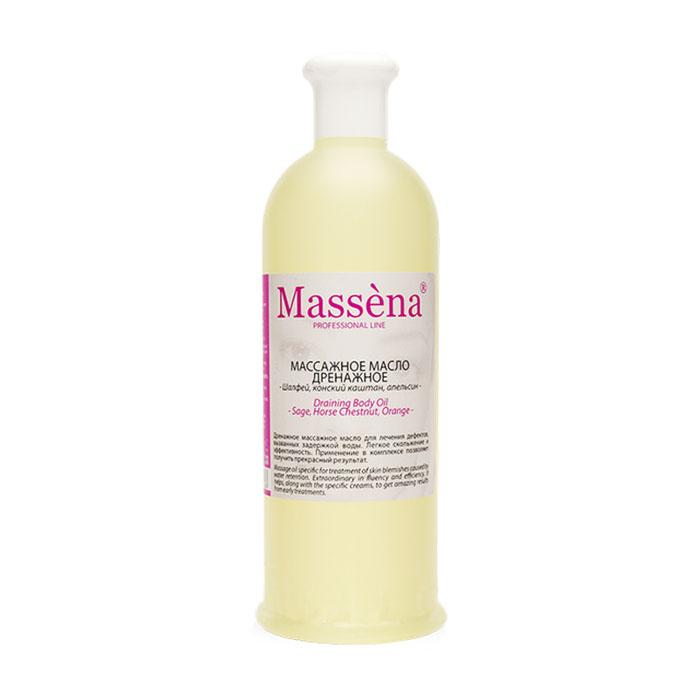 massena Масло массажное Massena дренажное 500 мл