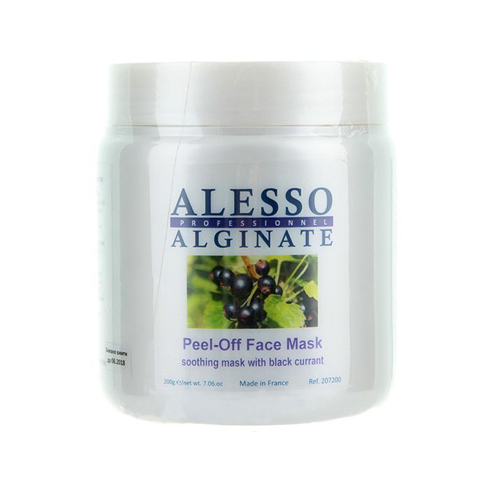 Купить Маски для лица Alesso, Альгинатная маска Alesso с черной смородиной успокаивающая 200 г