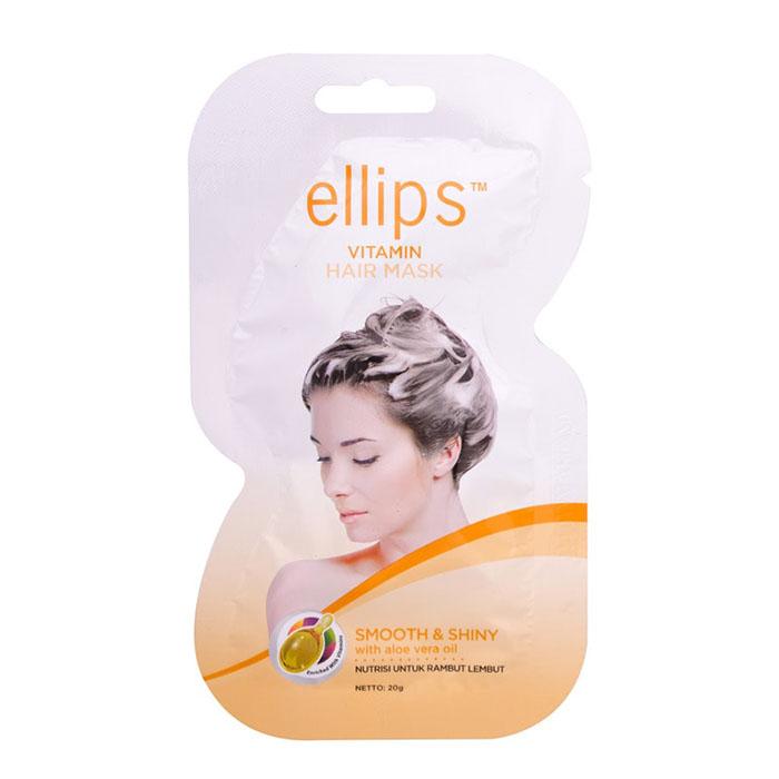 ellips Маска для волос Ellips Роскошное сияние с маслом Алоэ Вера 20 г 105535