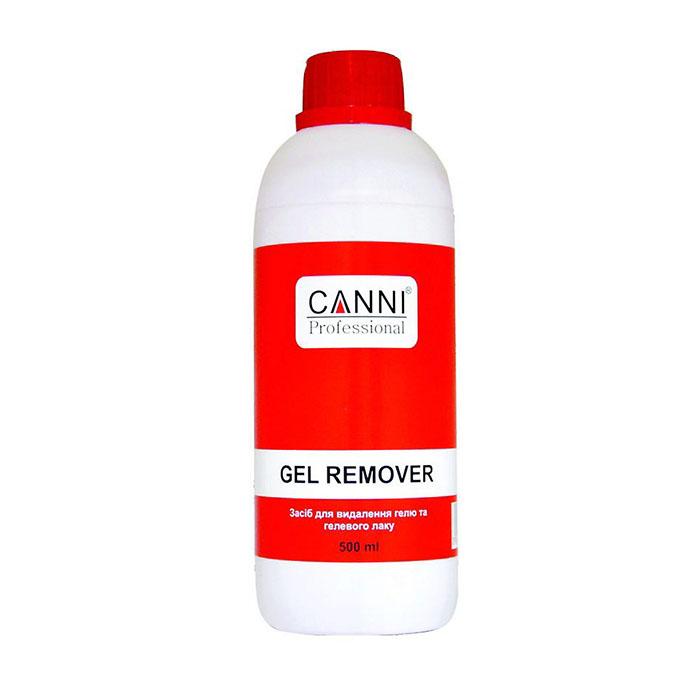 Купить Снятие гель-лака Canni, Жидкость для снятия гель-лака Canni Gel remover 500 мл