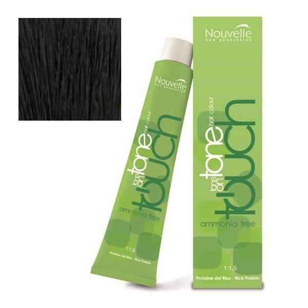 Купить Краска для волос Nouvelle Nouvelle, Крем-краска для волос Nouvelle Touch 4.71 красное дерево 60 мл