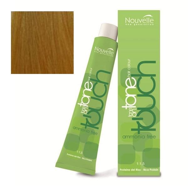 Купить Краска для волос Nouvelle Nouvelle, Крем-краска для волос Nouvelle Touch 9.37 восточное золото 60 мл