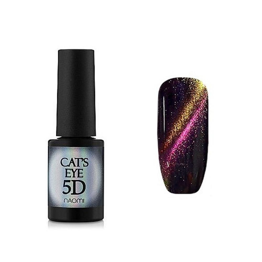 Купить Гель-лаки Naomi, Гель-лак Naomi Gel Polish Cat Eyes 5D С 91 6 мл