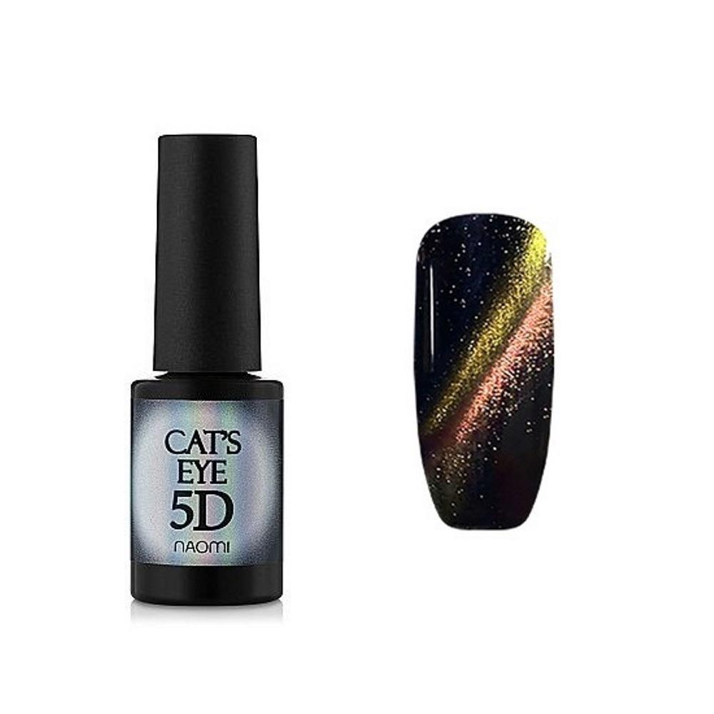 Купить Гель-лаки Naomi, Гель-лак Naomi Gel Polish Cat Eyes 5D С 92 6 мл