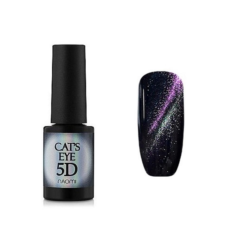 Купить Гель-лаки Naomi, Гель-лак Naomi Gel Polish Cat Eyes 5D С 93 6 мл