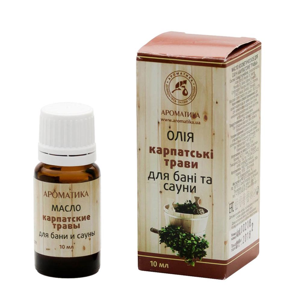 Купить Эфирные масла Ароматика, Эфирное масло Ароматика Карпатские травы 10 мл