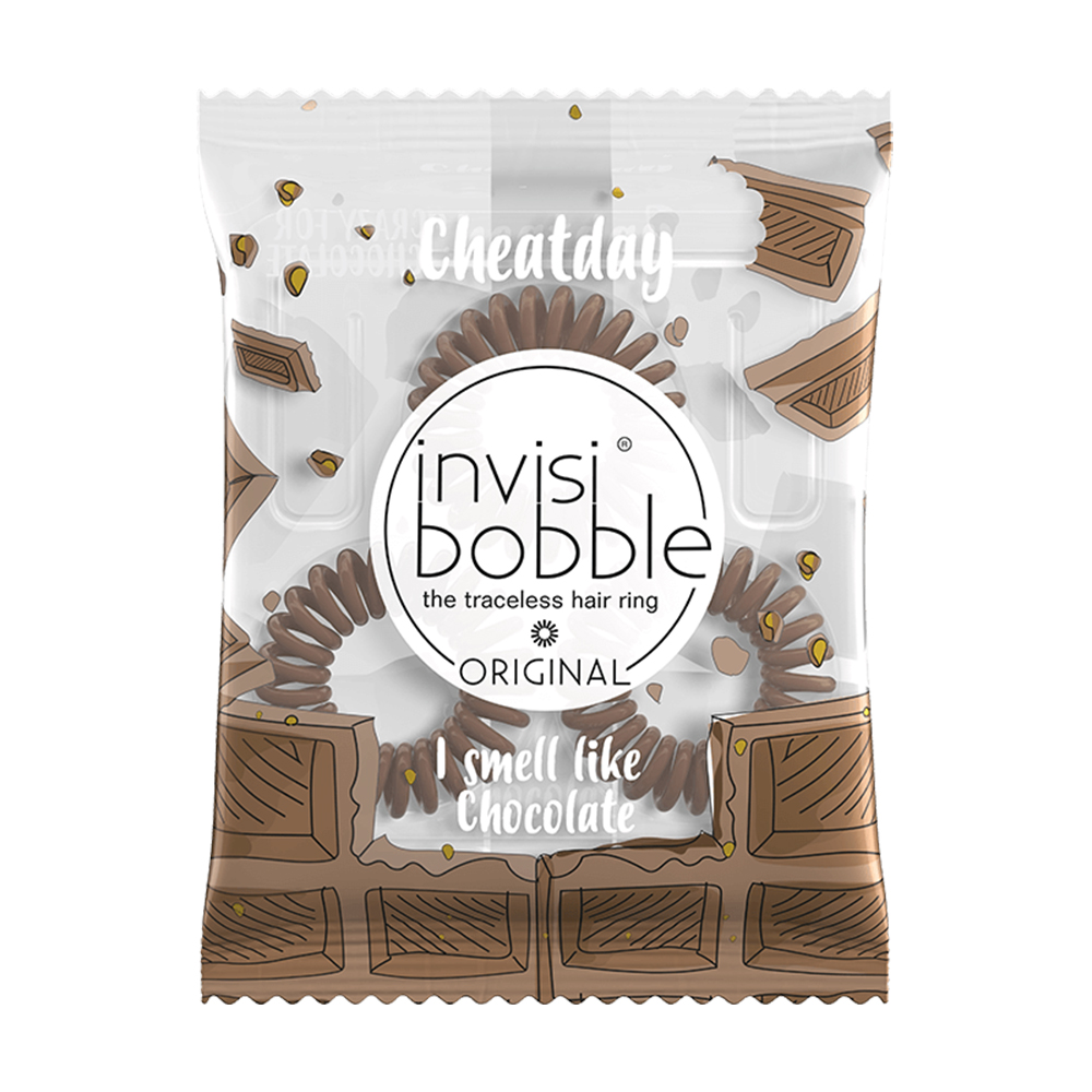 invisibobble Резинка-браслет для волос Invisibobble Cheatday Original Crazy For Chocolate