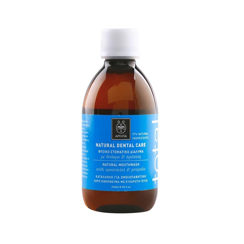 Купить Уход за полостью рта Apivita, Ополаскиватель для полости рта Apivita натуральное с мятой и прополисом 250 мл