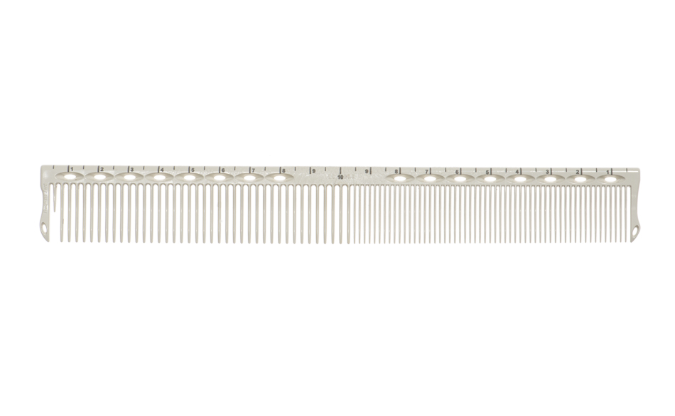 Купить Гребни Y.S.Park, Гребень Y.S.Park G20 Guide Сomb для стрижки с разметкой обучающая 200 мм White