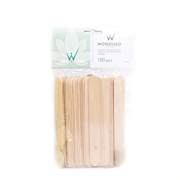 italwax Шпатель деревянный Ital Wax 19 х 150 мм 100 шт 112384