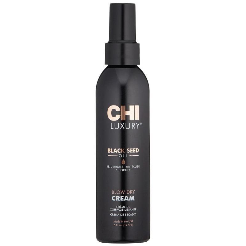 Купить Кремы для волос CHI, Крем CHI Luxury KB Black Seed Blow Dry Cream разглаживающий с маслом черного тмина 177 мл