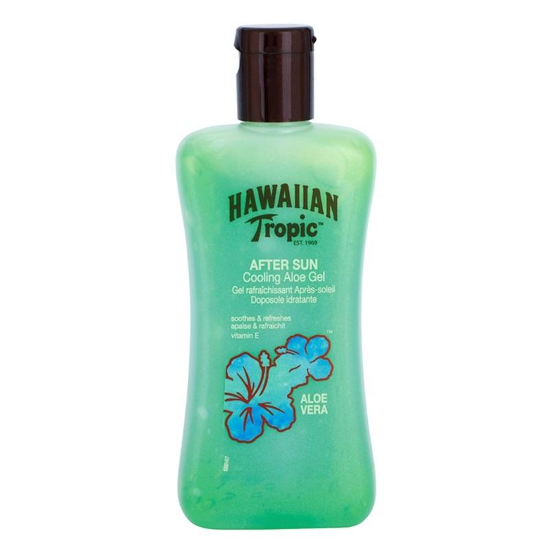Купить Солнцезащитные средства Hawaiian Tropic, Гель после загара Hawaiian Tropic After Sun Aloe Vera охлаждающий с Алое Вера 200 мл