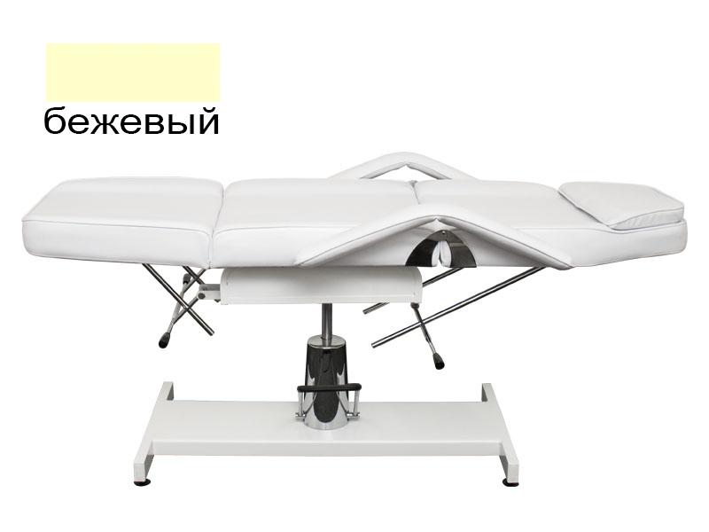 b.s.ukraine Косметологическая кушетка B.S.Ukraine 210A с гидравлической регулировкой высоты бежевая 113848