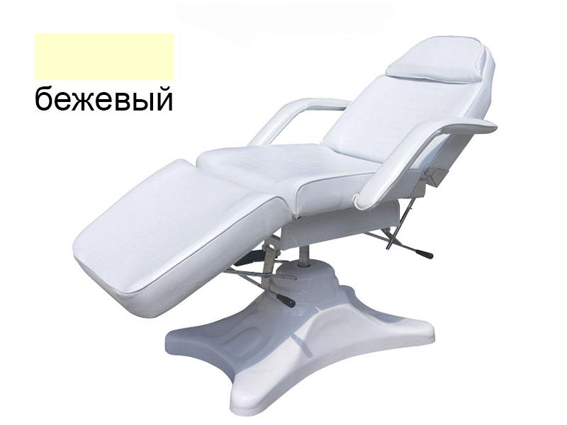 b.s.ukraine Косметологическая кушетка B.S.Ukraine 234 с гидравлической регулировкой высоты бежевый 113851