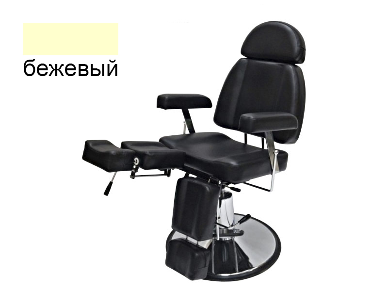 b.s.ukraine Педикюрное кресло B.S.Ukraine 227В 2 с гидравлической регулировкой высоты бежевое 113950