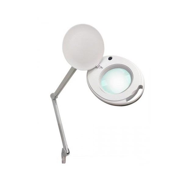 asf Лампа-лупа настольная ASF 6027K-H LED 5D белая холодный свет 12 W