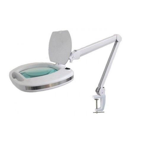 asf Лампа-лупа настольная ASF 6030 LED 3D белая холодный свет 12 W