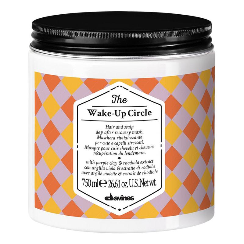Купить Маски для волос Davines, Маска Davines The Circle Chronicles The Wake Up Circle ребалансирующая для волос и кожи головы 750 мл