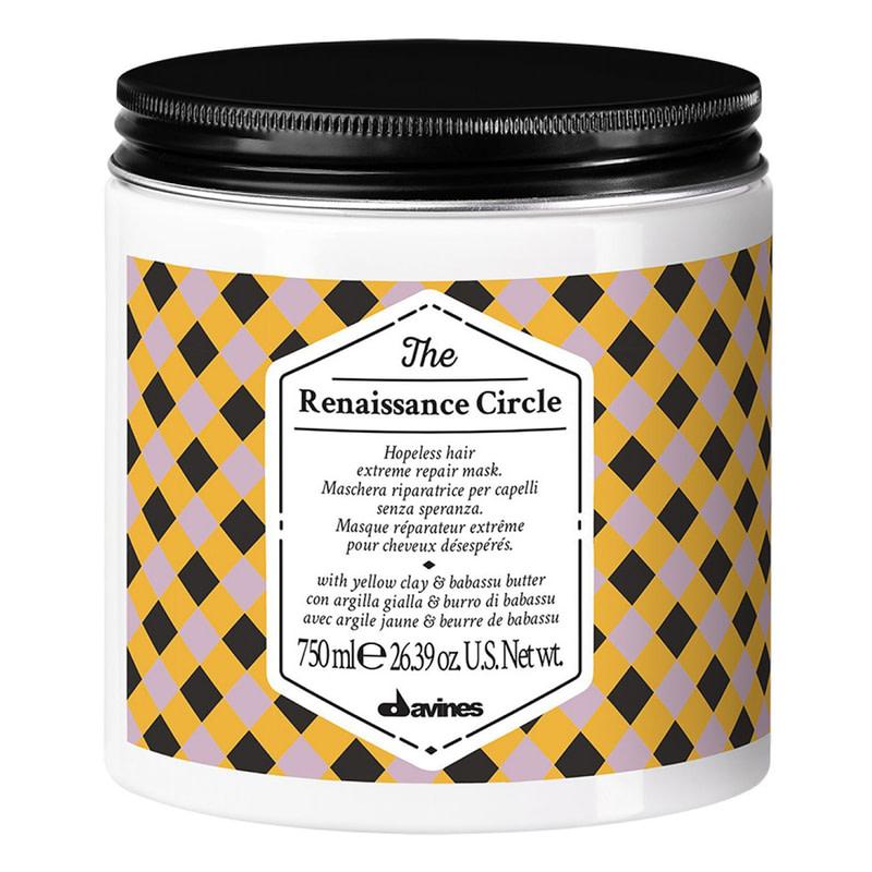Купить Маски для волос Davines, Маска Davines The Circle Chronicles Тhe Renaissance Circle для восстановления поврежденных волос 750 мл