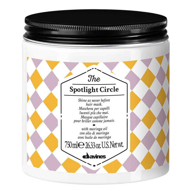 Купить Маски для волос Davines, Маска Davines The Circle Chronicles The Spotlight Circle для максимального блеска волос 750 мл