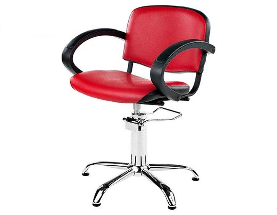 Купить Парикмахерская мебель Mebel Studio, Парикмахерское кресло Mebel Studio Элиза красное