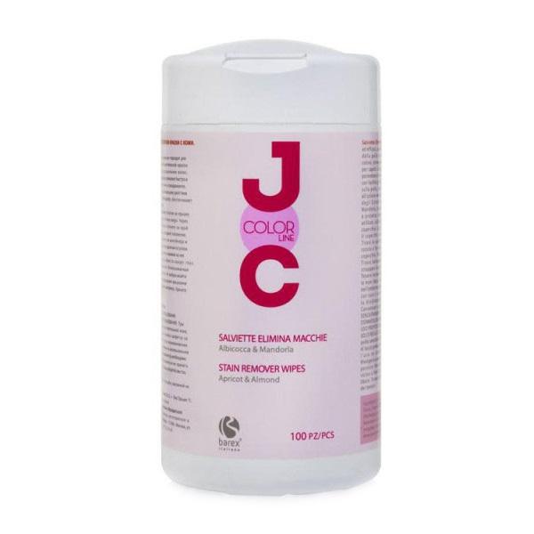 Купить Румуверы для волос и кожи Barex, Салфетки Barex Italiana Joc Color Line для снятия остатков краски с кожи головы 100 шт