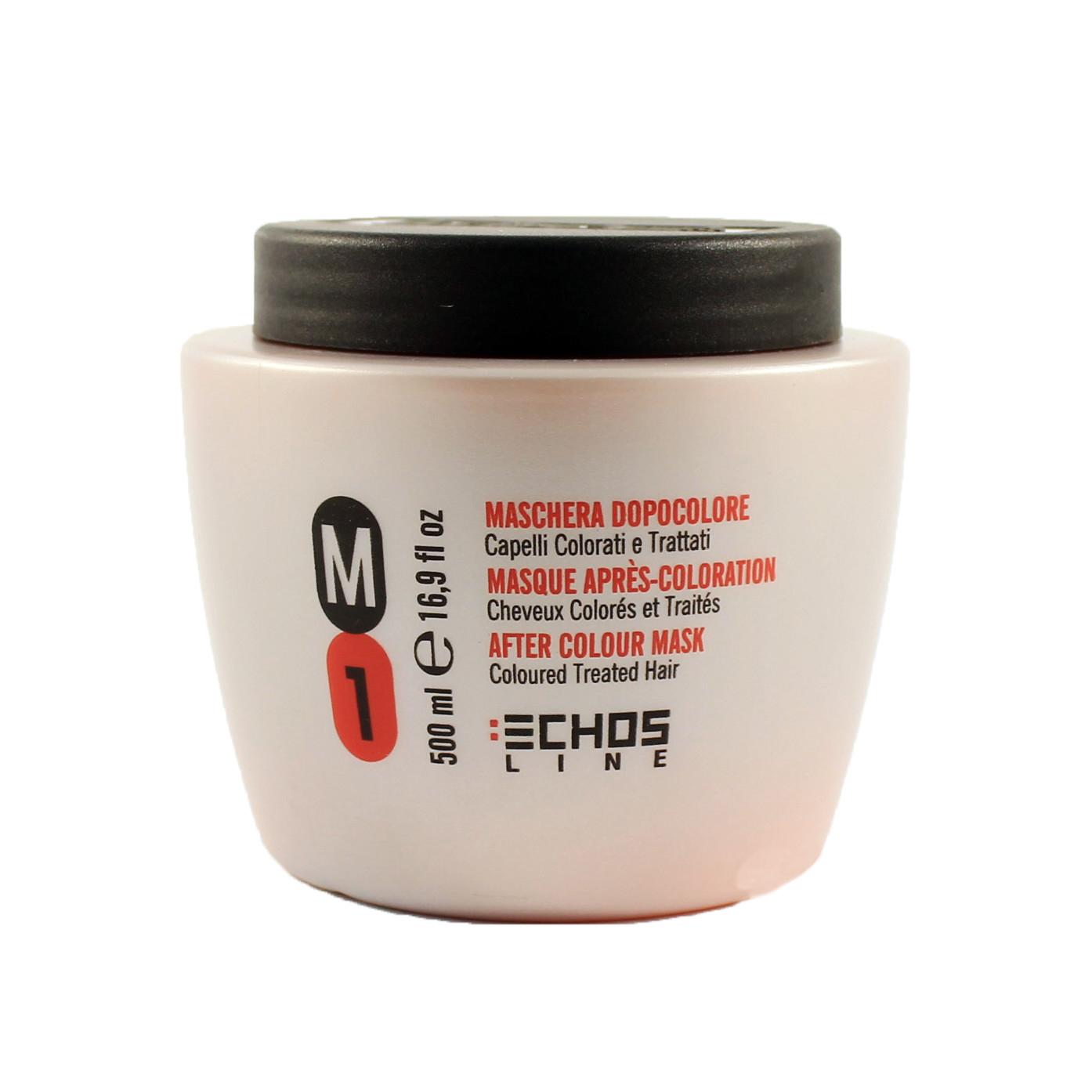 echosline Маска Echosline M1 для окрашенных и поврежденных волос 500 мл 13740