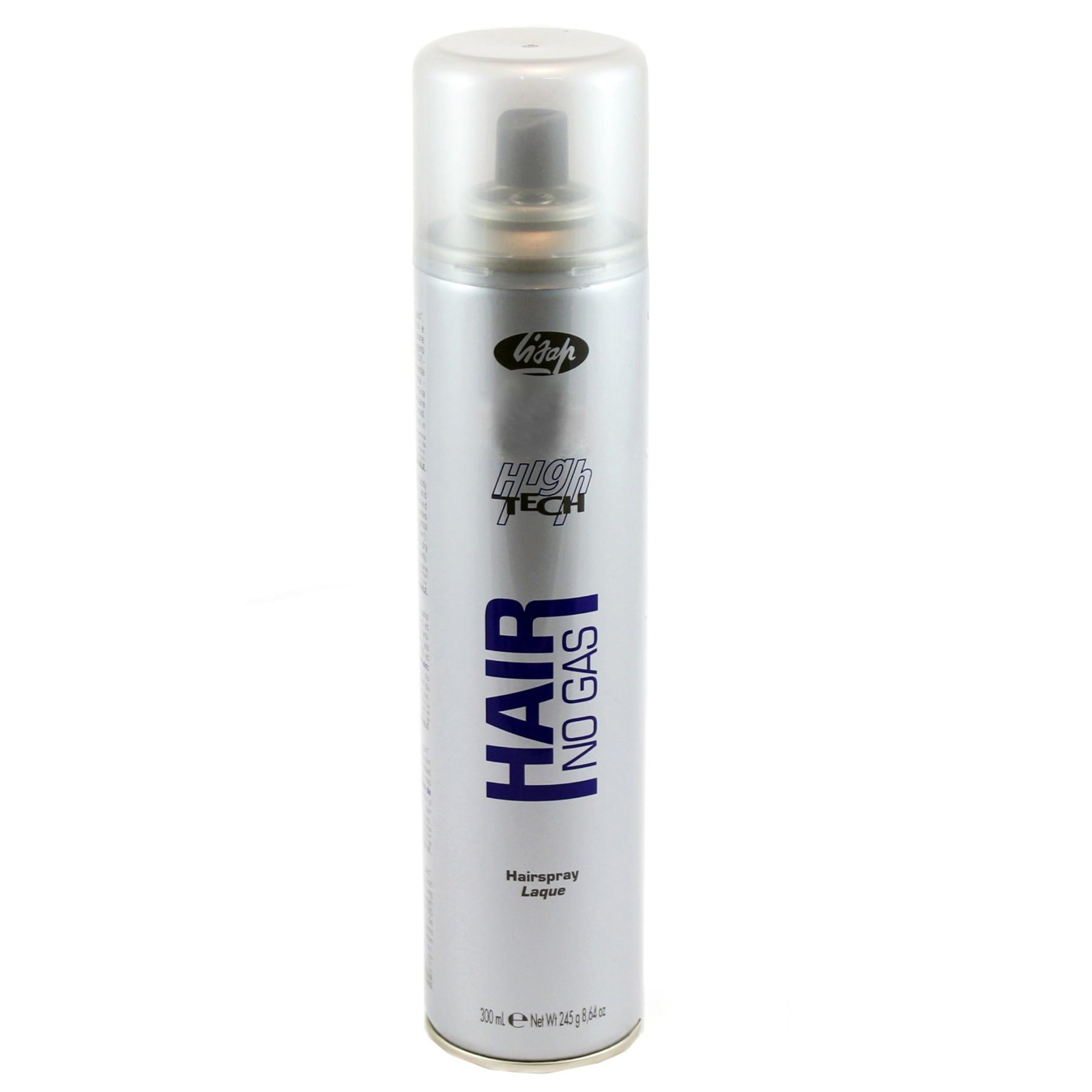 Купить Стайлинг волос Lisap, Лак для волос без газа Lisap High Tech Hair No Gas Hairspray нормальной фиксации 300 мл