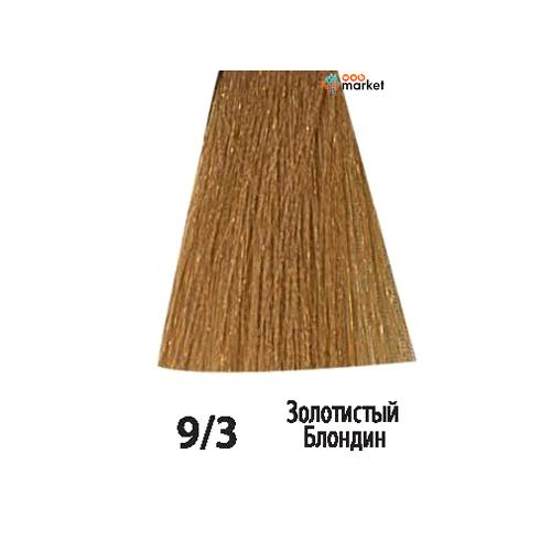 Купить Краски для волос Acme-Professional, Краска для волос Acme-Professional Beauty Plus 9/3 золотистый блондин 75 мл