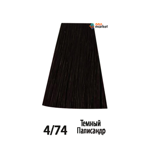 Купить Краски для волос Acme-Professional, Краска для волос Acme-Professional Beauty Plus 4/74 темный палисандр 75 мл
