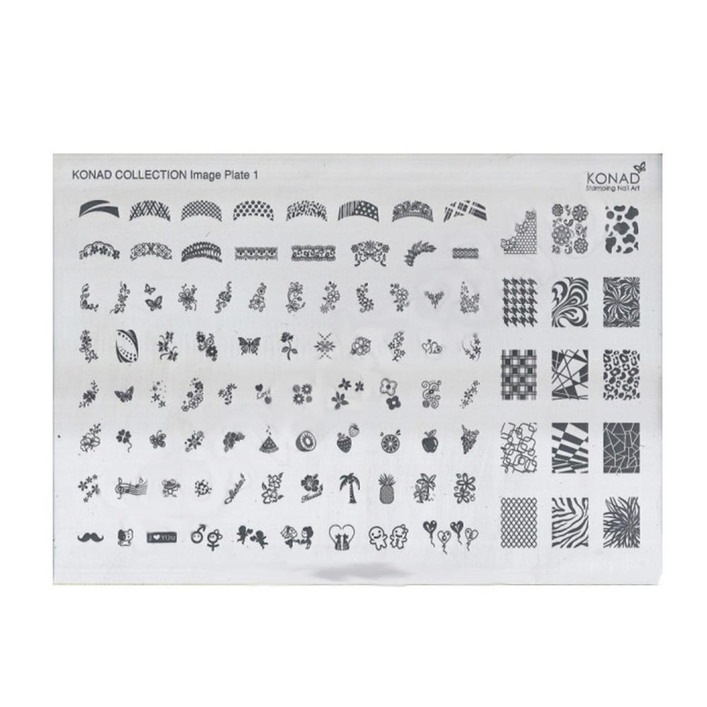 Купить Пластины для стемпинга Konad, Пластина для стемпинга Konad Collection Image Plate 1