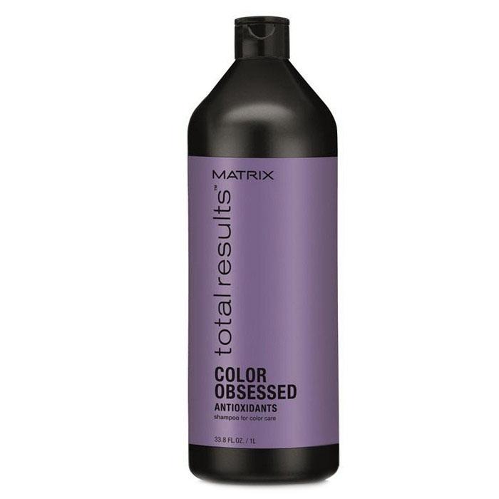 Купить Шампуни Matrix, Шампунь Matrix Total Results Color Obsessed Care для защиты цвета окрашенных волос с антиоксидантами 1000 мл