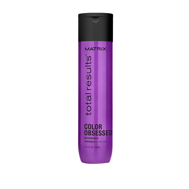 Купить Шампуни Matrix, Шампунь Matrix Total Results Color Obsessed Care для защиты цвета окрашенных волос с антиоксидантами 300 мл