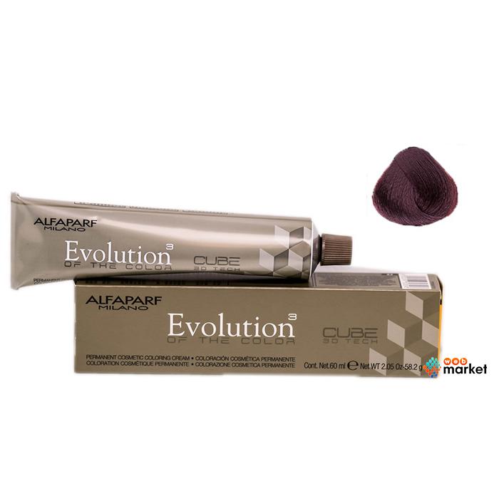 Купить Краски для волос Alfaparf, Краска для волос Alfaparf Evolution Of The Color Cube 6/5 темный русый махагон 60 мл