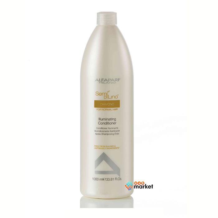 alfaparf Кондиционер Alfaparf Semi Di Lino Diamond для нормальных волос придающий блеск 1000 мл