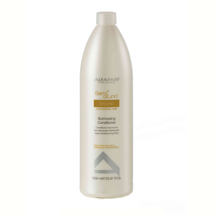 Купить Кондиционеры для волос Alfaparf, Кондиционер Alfaparf Semi Di Lino Diamond для нормальных волос придающий блеск 1000 мл