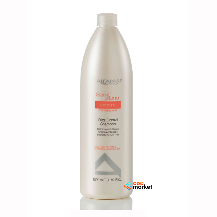 alfaparf Разглаживающий шампунь Alfaparf Semi Di Lino Discipline для непослушных волос 1000 мл
