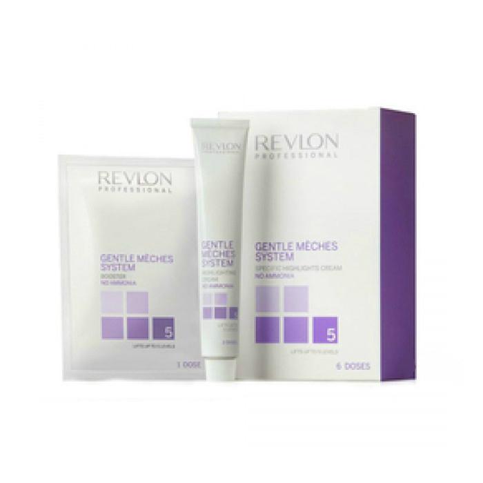 Отбеливающая система Revlon Professional Gentle Meches System для мелирования волос 3x60 мл 6x50 г