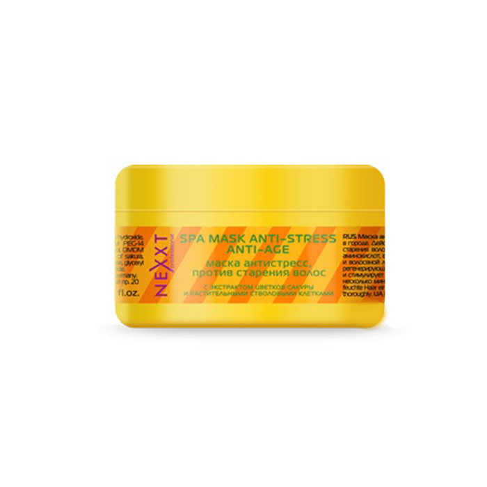 Маска Nexxt Professional антистресс против старения волос 200 мл